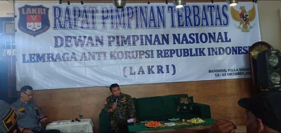 Ketua umum Lembaga Anti Korupsi Republik Indonesia